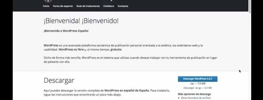 Wordpress turorial instalación en servidor remoto