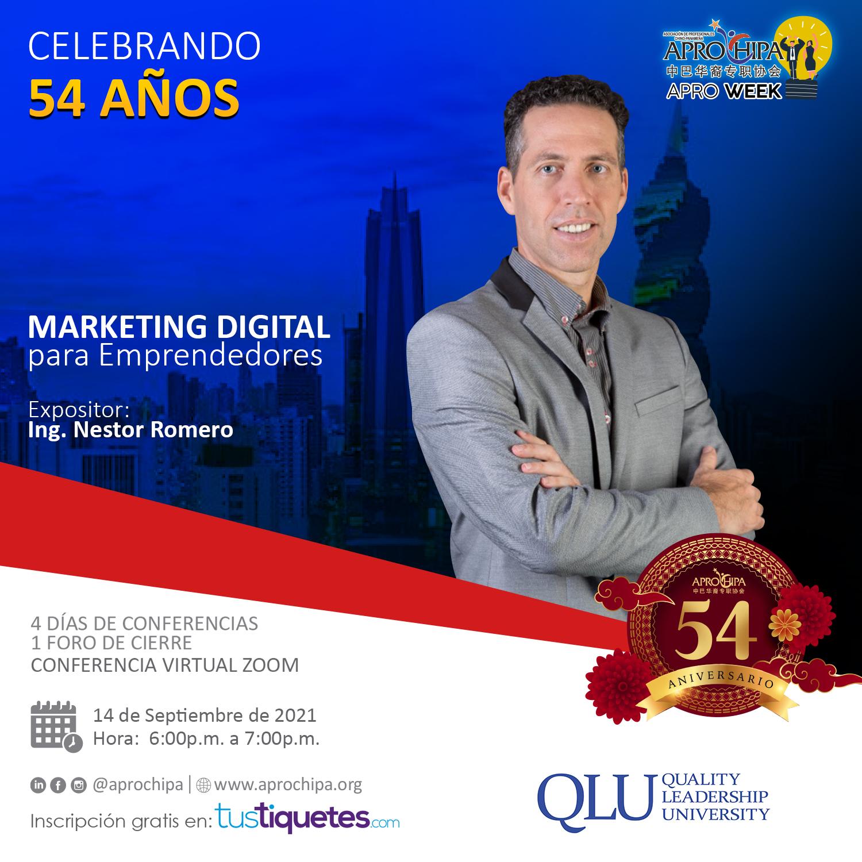 Nestor Romero marketing digital para emprendedores